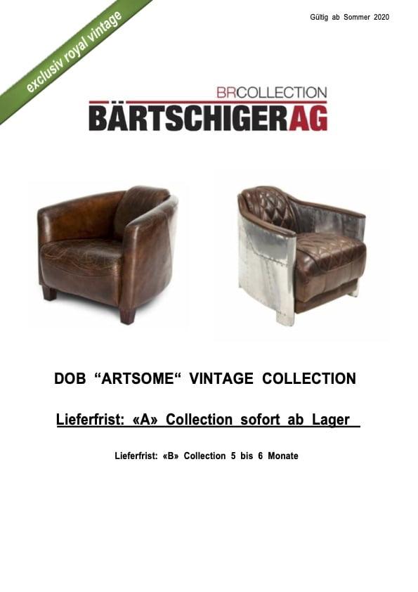 Bärtschiger AG baertschiger ag dob vintage collection sommer 2020 titel