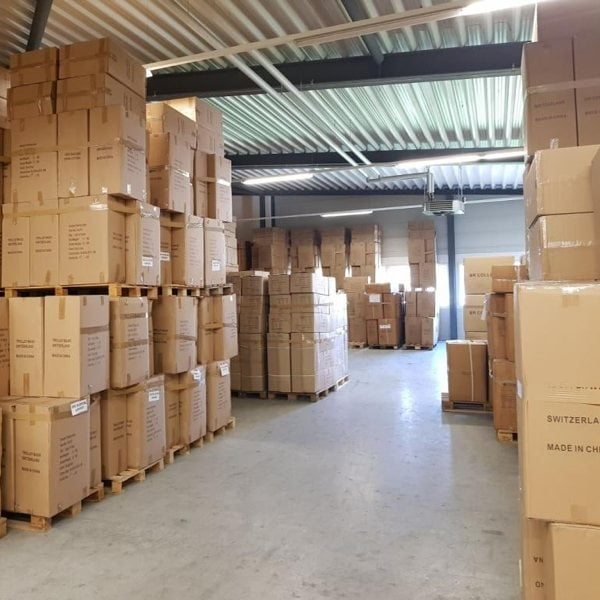 Bärtschiger AG Import und Grosshandel Oftringen Lager
