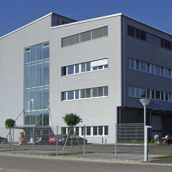 Firmengebäude Bärtschiger AG Oftringen Import und Grosshandel